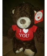 """Carters Little Occasions Oh So Giftable I Love You Brown Bear 12"""" Plush ... - $18.66"""