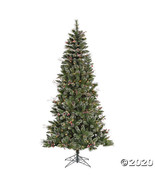 Vickerman 6' Snow Tipped Pine and Berry Christmas Tree with Warm White L... - $236.23