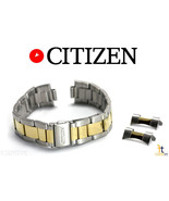 Citizen Original AN3124-53L 19mm Two-Tone Stainless Steel Watch Band Strap - $65.05