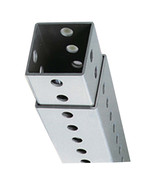 """2"""" Thick & 48""""H to 96""""H Polyethylene Telescopic Square Post Mounting the... - $93.09"""