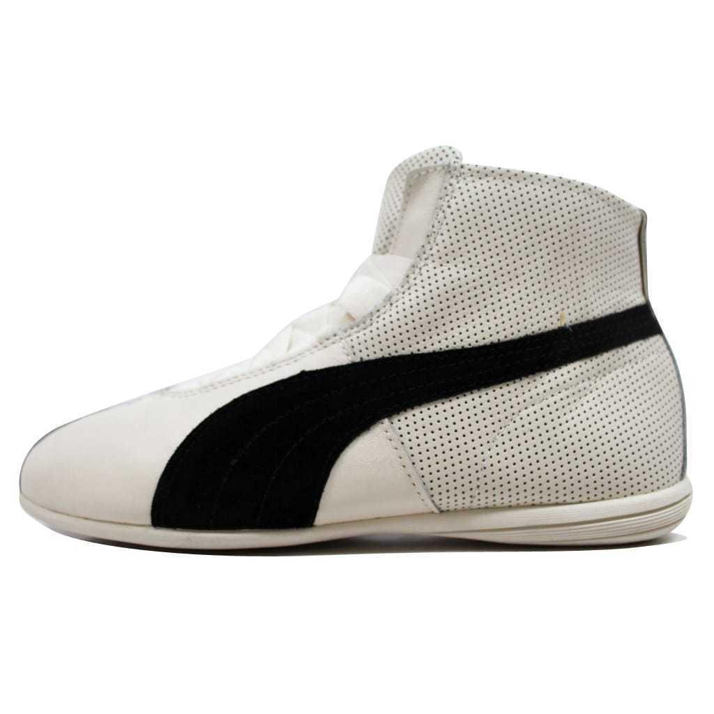 Puma Eskiva Mid Whisper White/Black 361010 02 Women's SZ 9
