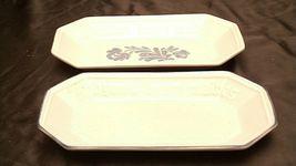 Pfaltzgraff Bread Serving Plate USA (Pair)  AA20-2131b Vintage image 4