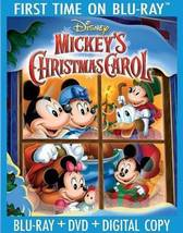Disney Mickey's Christmas Carol 30th Anniversary [Blu-ray + DVD + Digital]
