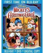 Disney Mickey's Christmas Carol 30th Anniversary [Blu-ray + DVD + Digital] - $21.95