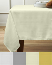 "Members Only Valencia Tablecloth Liquid & Stain Resistant Fabric 60"" x 84"" - $22.09"