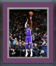 De'Aaron Fox 2017-18 Sacramento Kings Action-11x14 Matted/Framed Photo - $42.95