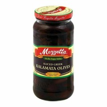 Mezzetta Kalamata Olives - Sliced Greek - Case Of 6 - 9.5 Oz. - $50.97