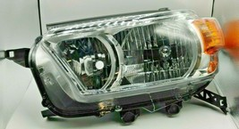 Chrome Amber Replacement Left Headlight for 10-13 Toyota 4Runner - $92.99