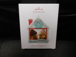 "Hallmark Keepsake ""Our First Christmas"" 2018 Photo Holder Ornament NEW S... - $4.70"