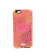 Mary Square Clara Two Piece iPhone 6 Tough Case in Coral Print It Is Wel... - $9.99