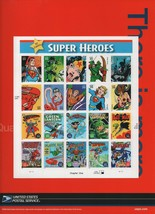 DC Comics Super Heroes - Stamp Sheet - Chapter One - USPS 2005. - $9.79