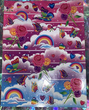 *Pick1Sheet* VINTAGE Lisa Frank Full Complete Sticker Sheets Still Glossy Crisp image 3