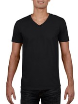 George Men's Short Sleeve V-Neck T Shirt Size X-Small 30-32 Black Perfor... - $11.87