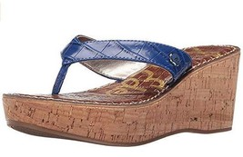 NWB Sam Edelman Women's Romy Wedge Leather Platform Sandal sz 9M - $69.99