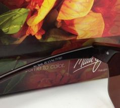 Nuevas Polarizadas Maui Jim Gafas de Sol Sexy Tierra Mj 426-26 Rootbeer Hcl image 8