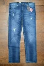 Armani Exchange A|X J16 Men's Straight Fit Stretch Cotton Blue Denim Jea... - $59.39