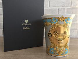 Versace by Rosenthal Vase 18 cm / 7.09 in Prestige Gala Le Bleu New - $275.00
