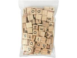 Wooden Scrabble Tiles image 2