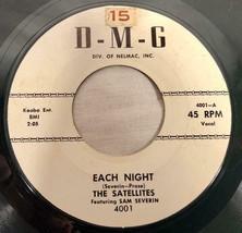 1960 45RPM RECORD THE SATELLITES SAM SEVERIN EACH NIGHT D-M-G RECORDS - £28.70 GBP