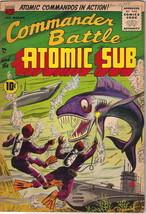 Commander Battle and the Atomic Sub Comic Book #5, ACG/TITAN 1955 FINE+ - $150.85