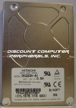 "Hitachi DK223A-81 810MB 2.5"" 12MM IDE Drive Tested Free USA Ship Our Dri... - $16.61"