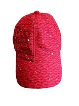 Hot Pink Studded Adjustable Strapback Hat - $14.84