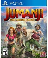Brand new Jumanji The Video Game PlayStation 4 free shipping - $37.99