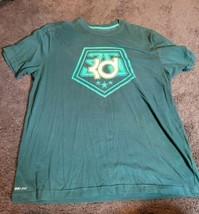 Men's Nike KD Kevin Durant #35 Dri-fit T-Shirt Size XL Green - $19.95