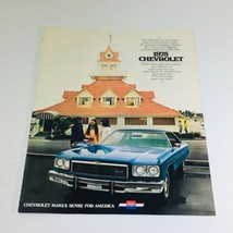 1975 Chevrolet Caprice-Impala-Bel Air Dealership Car Auto Brochure Catalog - $8.51