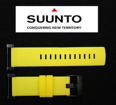 Suunto Core ORIGINAL Flat Yellow Rubber Watch BAND Strap w/ Attachment Pins - $46.96