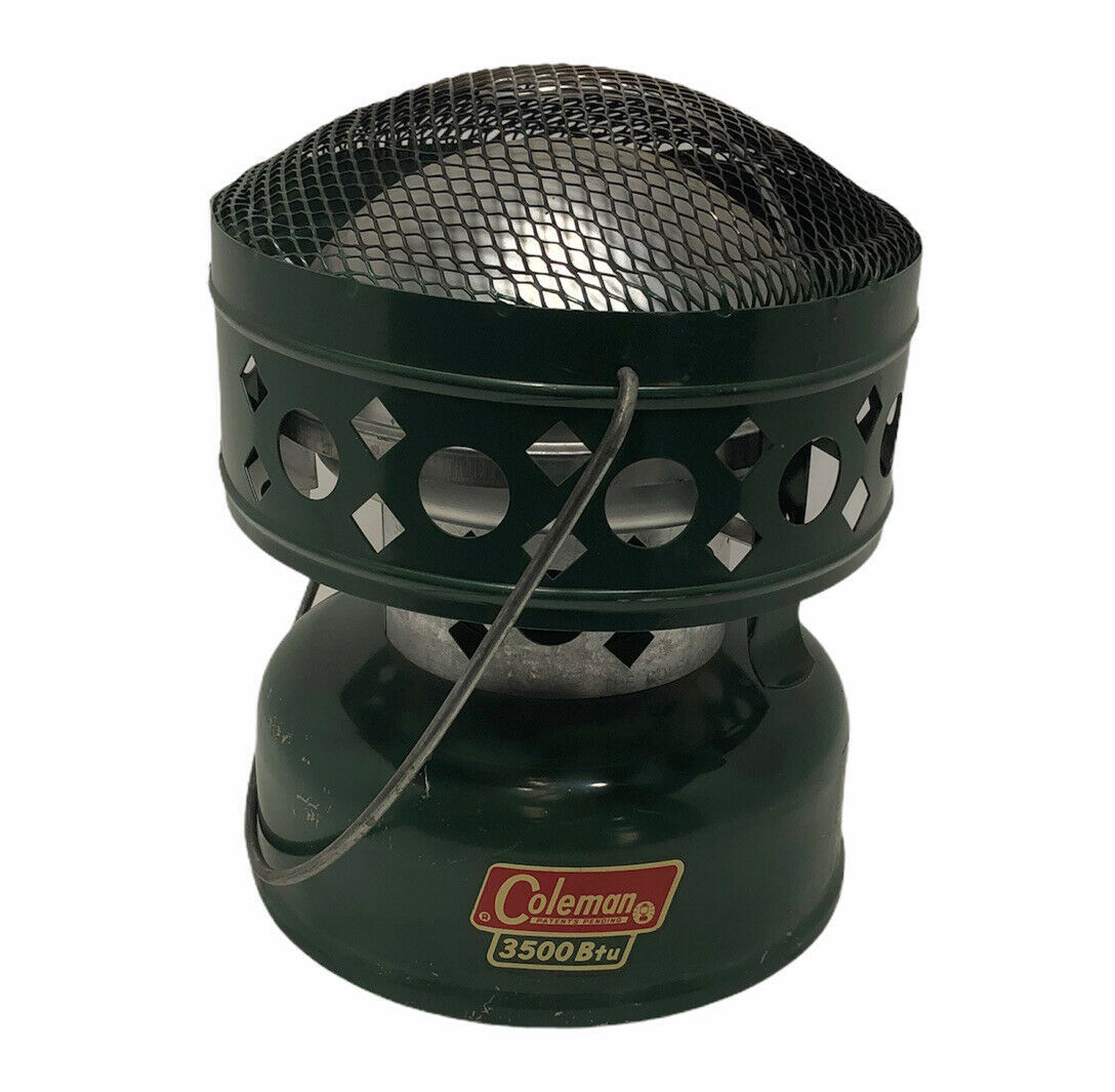 Vintage Coleman Portable Catalytic Heater 3500BTU 512A 11/1971 Camping Hunting - $109.99