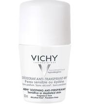 Vichy Soothing Anti-Perspirant Sensitive Skin 48hours Sensitive Skin 50ml / 1.7o - $19.49