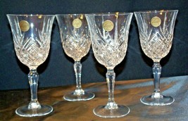 Collections Cristal d'Arques Masquerade Set of 4 Goblets AA19-CD0047 Vintage image 2