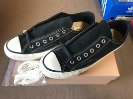 Converse Addict Chuck Taylor Black Suede Ox Men 8US - $560.82