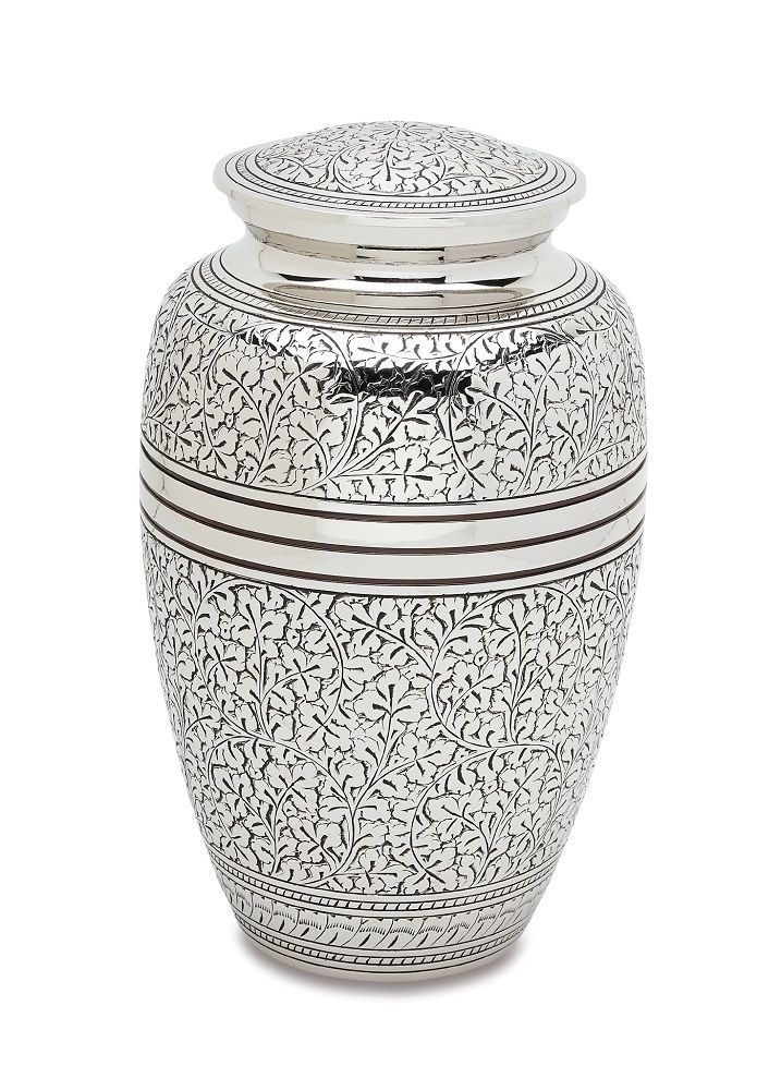 Small/Keepsake 3 Cubic Inches  Brass Heart  Funeral Cremation Urn for Ashes