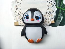 Kawaii Jumbo Animal Female Penguin Squishy Slow Rising Restore Squeeze Toy Gift - $3.59
