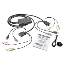 Tripp Lite 2-port Usb And Dvi Cable Kvm Switch TRPB032DUA2 - $123.71