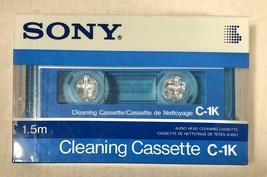 Sealed Sony C-1K Cl EAN Ing Cassette Head Cl EAN Er - $25.73