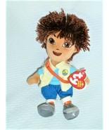 Ty Beanie Baby ~ DIEGO (Nick Jr. - Go Diego Go)(7.5 Inch) ~ Plush Doll Toy - $19.79