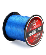 SeaKnight TriPoseidon Series 300M Braided Fishing Line Blue 0.4 Line Number - $12.00