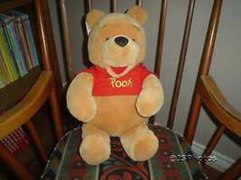 "Winnie The Pooh Plush 17"" Disney Store Exclusive Comes With All Tags - $57.83"