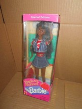 "Mattel 1996 African American ""Back To School""Barbie Doll Special Edition Nib ~ - $18.69"