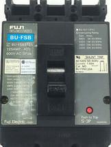 Fuji BU-FSB Circuit Breaker 600V 125A 3 Pole - $79.80