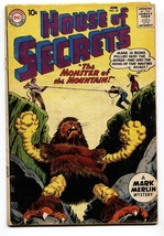 HOUSE OF SECRETS #33 comic book 1960 DC COMICS MARK MERLIN MONSTER - $23.96