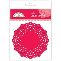 "MINI Paper Doilies.  75 Pack. 3""  Choose Color. Doodlebug Designs image 5"