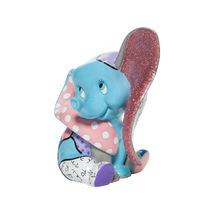 "6"" High Disney Britto Baby Dumbo Figurine Multicolor Hand Painted image 3"