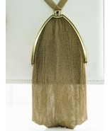Tiffany and Co Art Deco Purse Gold Mesh Sapphire & Pearls - $6,844.70