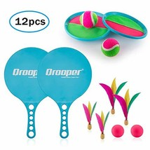 Popular Kids Paddle Ball Set ,Toss and Catch Game Set,Most creative 2 IN... - $29.43