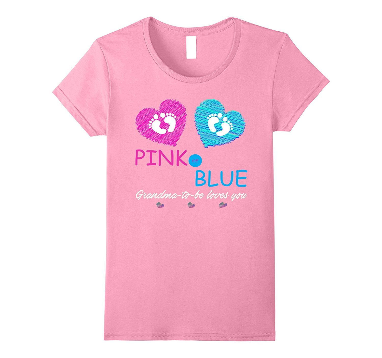 New shirt pink or blue baby shower gender reveal shirt for Baby pink shirt for man
