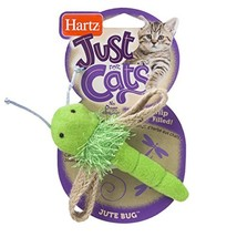 Just For Cats Jute Bug Catnip Cat Toy - $6.66